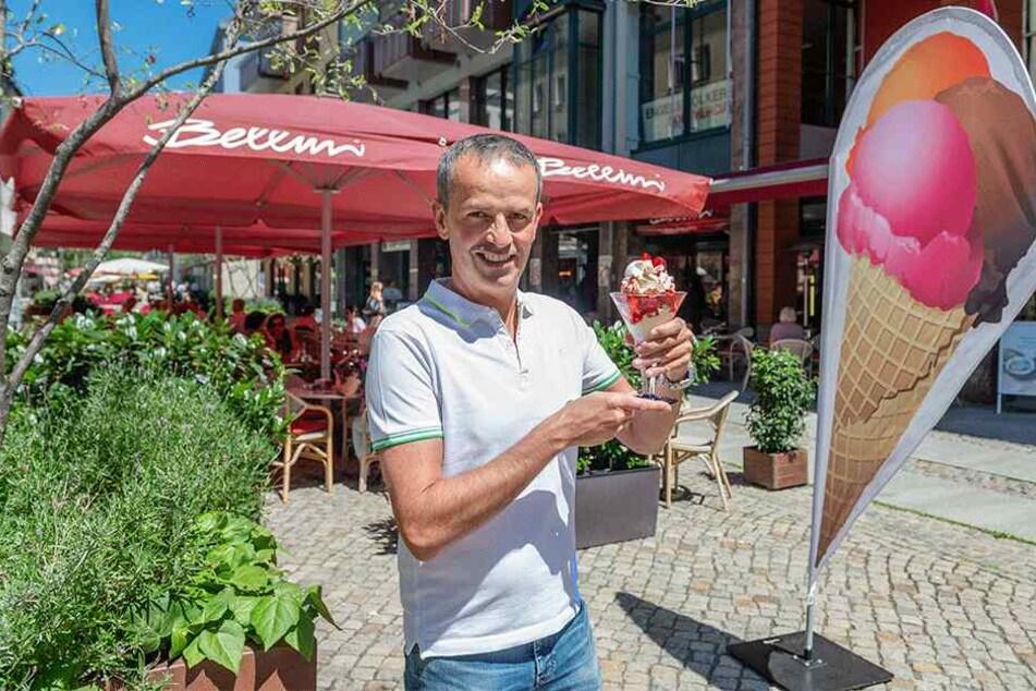 """Sven Potthast (45) ist einer der """"Bellini""""-Chefs. Samstag macht er 1000 MOPO-Leser glücklich."""