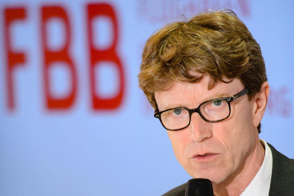 Die Spannung steigt: Wann wird der BER in Betrieb gehen? Flughafenchef Lütke Daldrup wird es dieses Jahr verkünden.