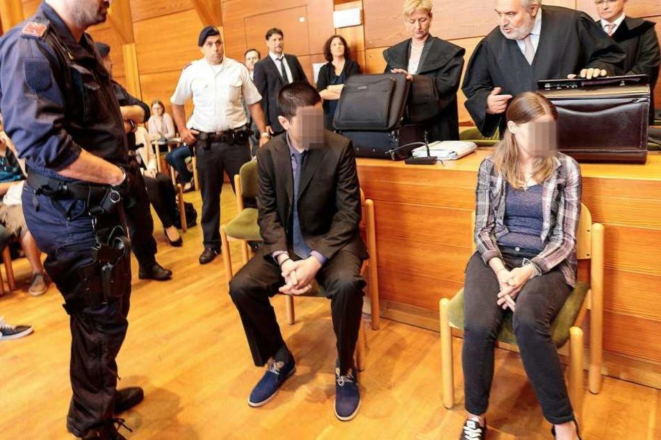 Der Mann und die Frau wurden jetzt in Innsbruck zu mehrjährigen Haftstrafen verurteilt.