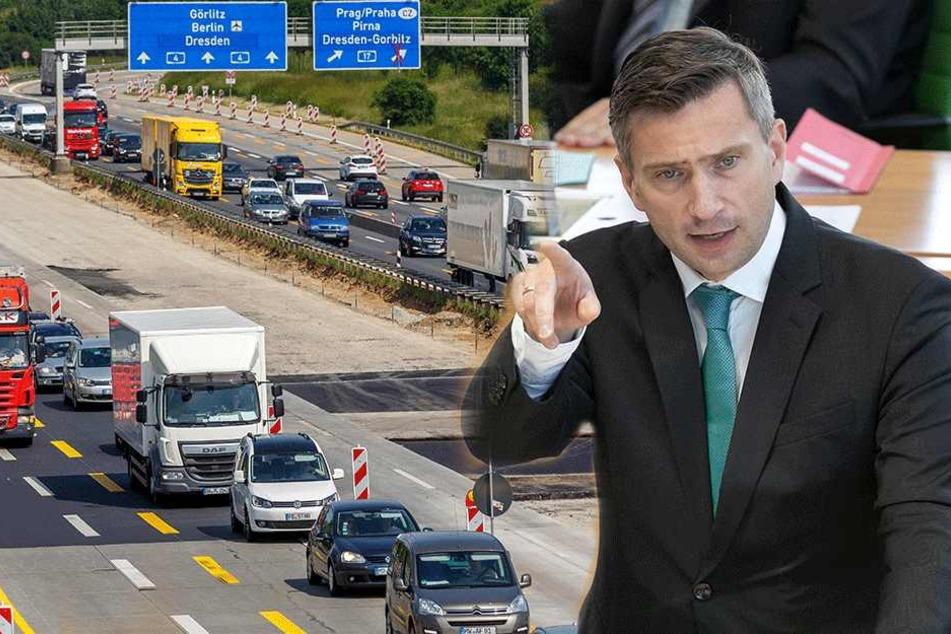 Chaos durch Baustellen auf der A4: Jetzt spricht der Minister zum Stau-Desaster
