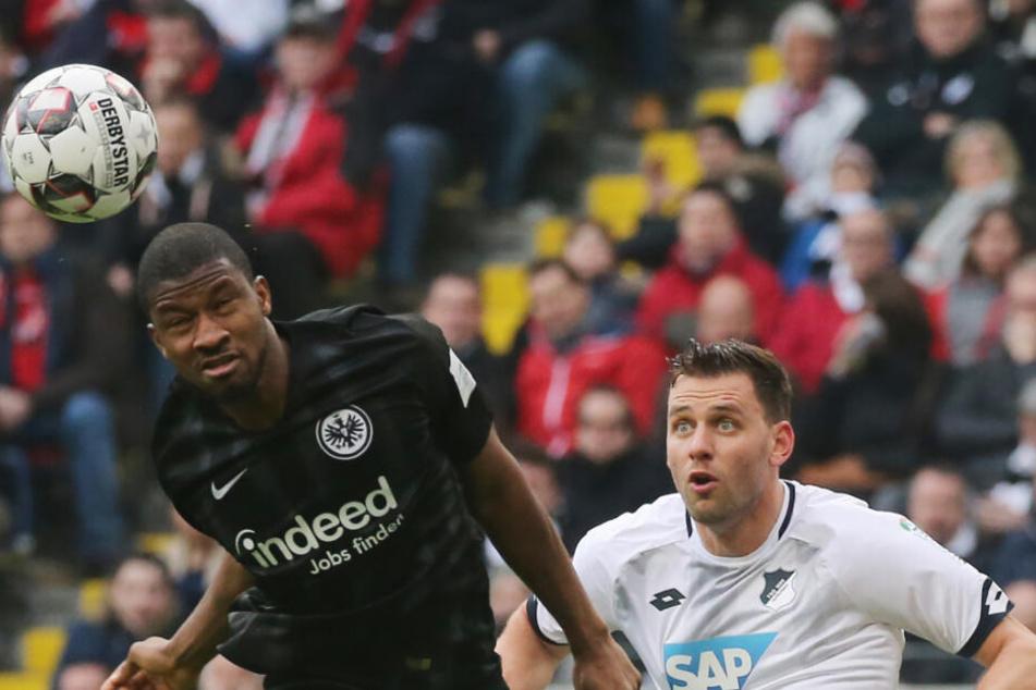 Frankfurt und Hoffenheim kämpften in den Schlussminuten um jeden einzelnen Ball.