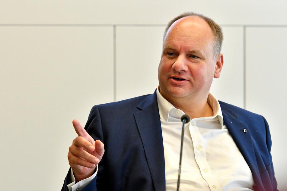 Dresdens Oberbürgermeister Dirk Hilbert (49, FDP).