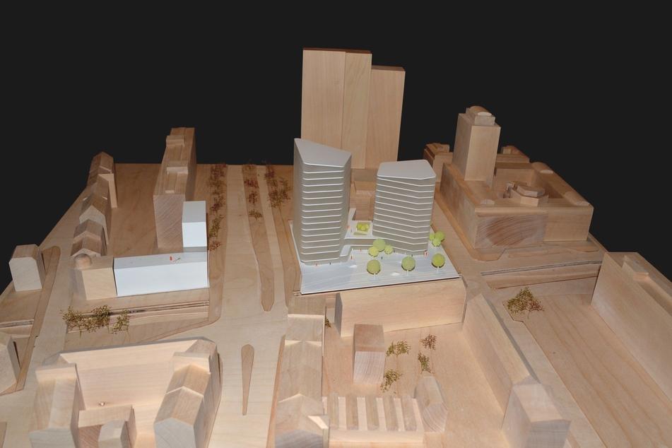 So sieht der Siegerentwurf für das Bauprojekt aus.
