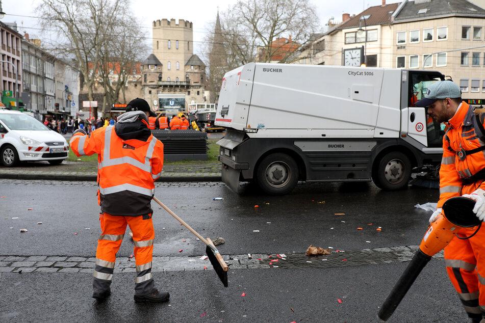 Die Müllabfuhr in Köln muss Prioritäten setzen.