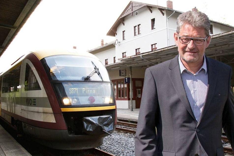 Pirnas OB kämpft um die Zugstrecke nach Sebnitz