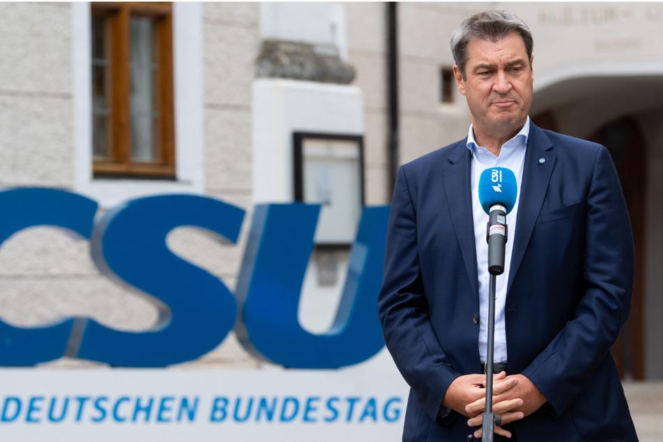 Markus Söder (54, CSU), Ministerpräsident von Bayern und CSU-Vorsitzender, glaubt nicht an die Führungsqualität der Grünen.