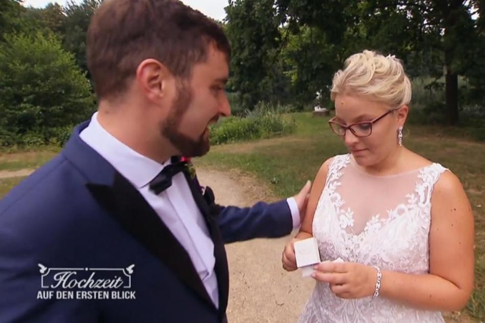 Hochzeit Auf Den Ersten Blick Droht Diesem Paar Die Nachste Blitz