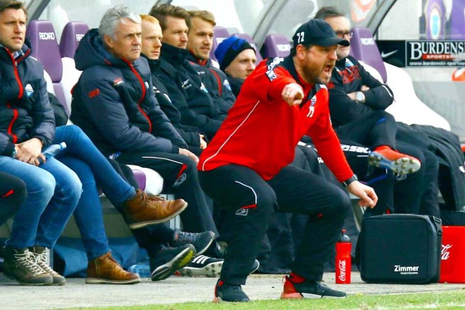 Auch bei den Eisernen möchte SCP-Trainer Steffen Baumgart seine Elf nach vorne peitschen.