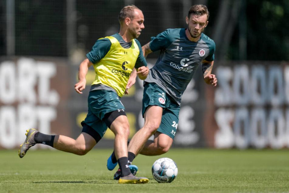 Rico Benatelli (links) und Borys Tashchy kamen im Sommer und könnten im Winter schon wieder gehen.