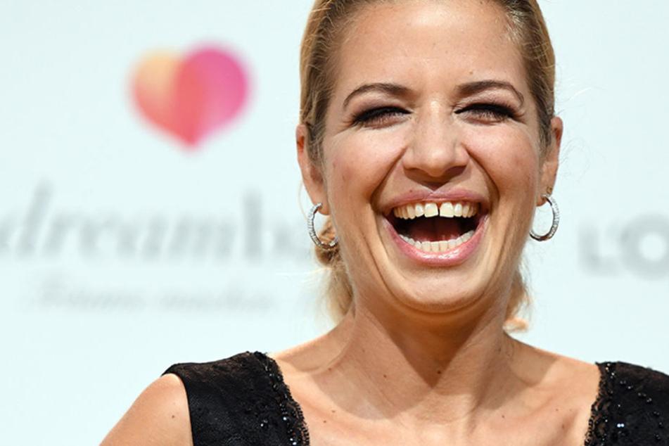 Immer am Lachen: Susan Sideropoulos auf einer Benefiz-Gala in Berlin.