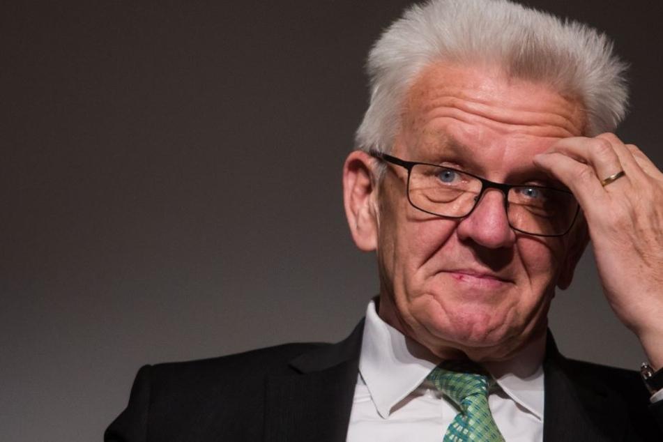 Scheint sich derzeit mit der Bundespolitik nicht anfreunden zu können: Baden-Württembergs Ministerpräsident Winfried Kretschmann.