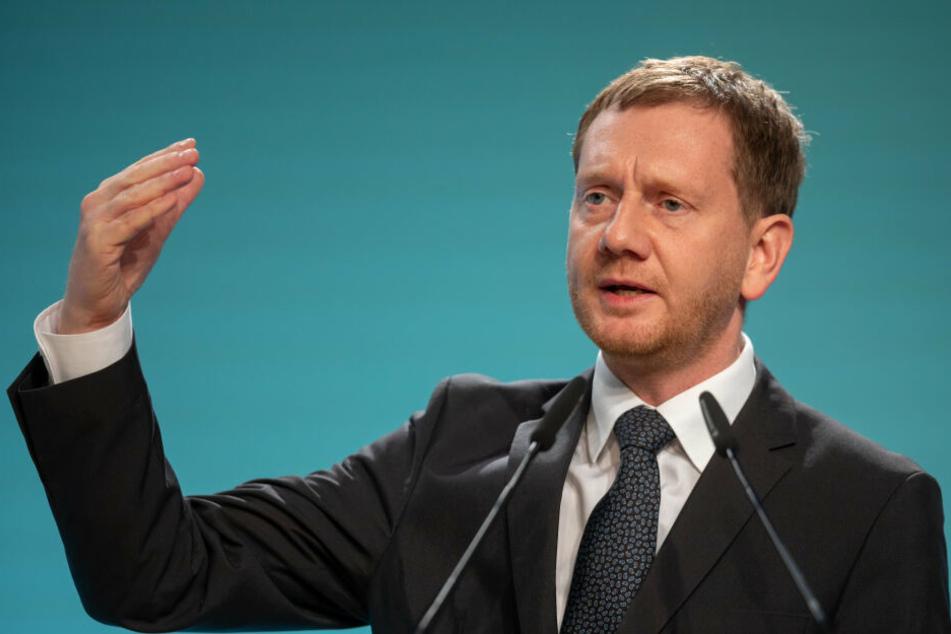 Michael Kretchmer sprach auf dem Parteitag viele wichtige Themen an.