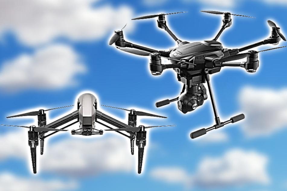 Diese und viele weitere Drohnen gibt es bei Conrad Frankfurt günstiger.