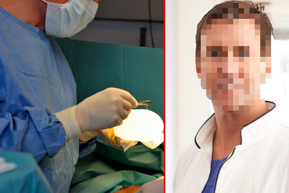 Gegen den Münchner Arzt wird unter anderem wegen Körperverletzung ermittelt. (Bildmontage)