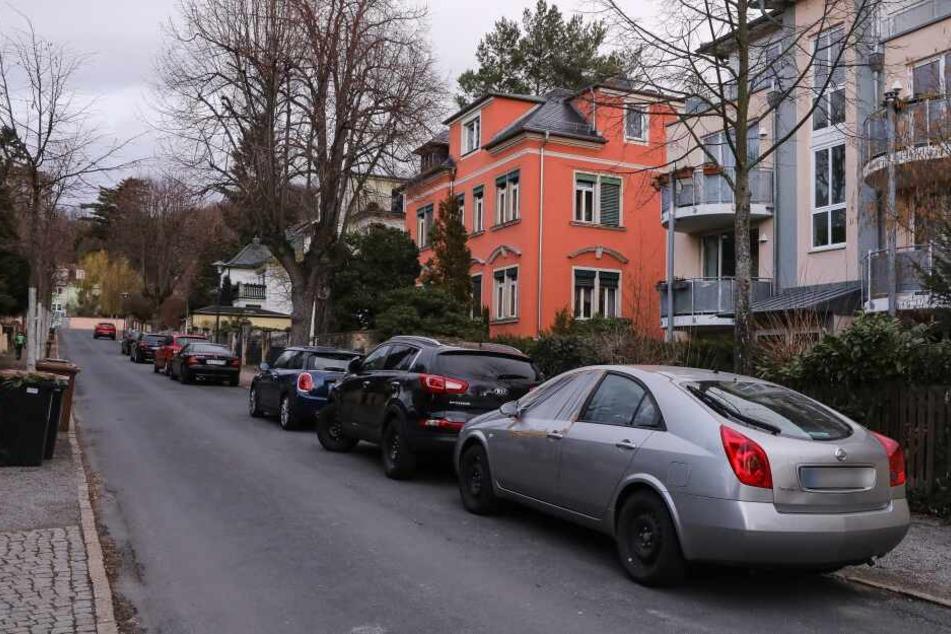 Auch in dieser Straße schlugen die Täter zu.