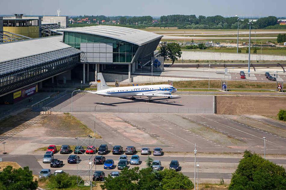 Vom Schkeuditzer Flughafen aus startete die Maschine.