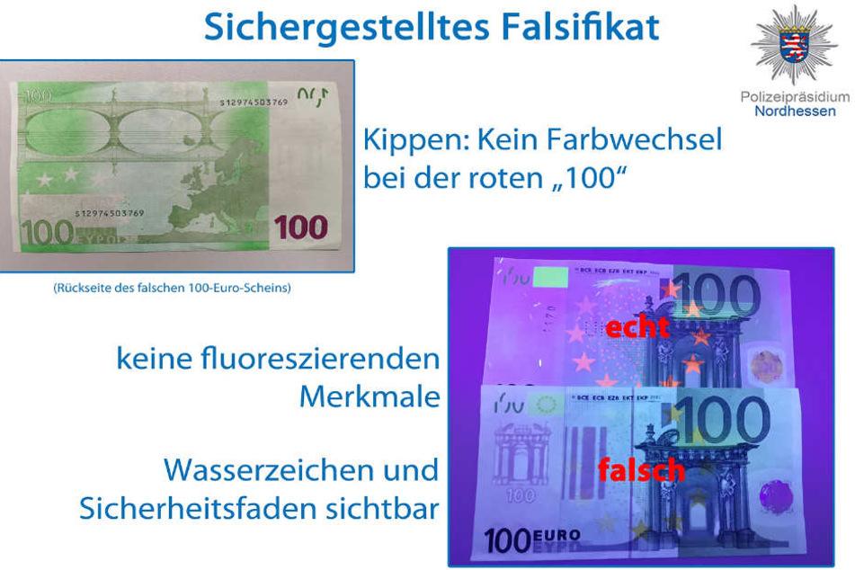 Diese Grafik wurde vom Polizeipräsidium Nordhessen veröffentlicht.