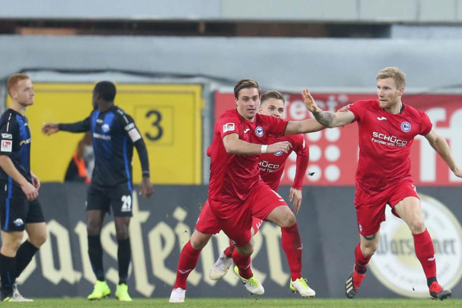 Auch gegen den SV Sandhausen möchte die Saibene-Elf Punkte einfahren.