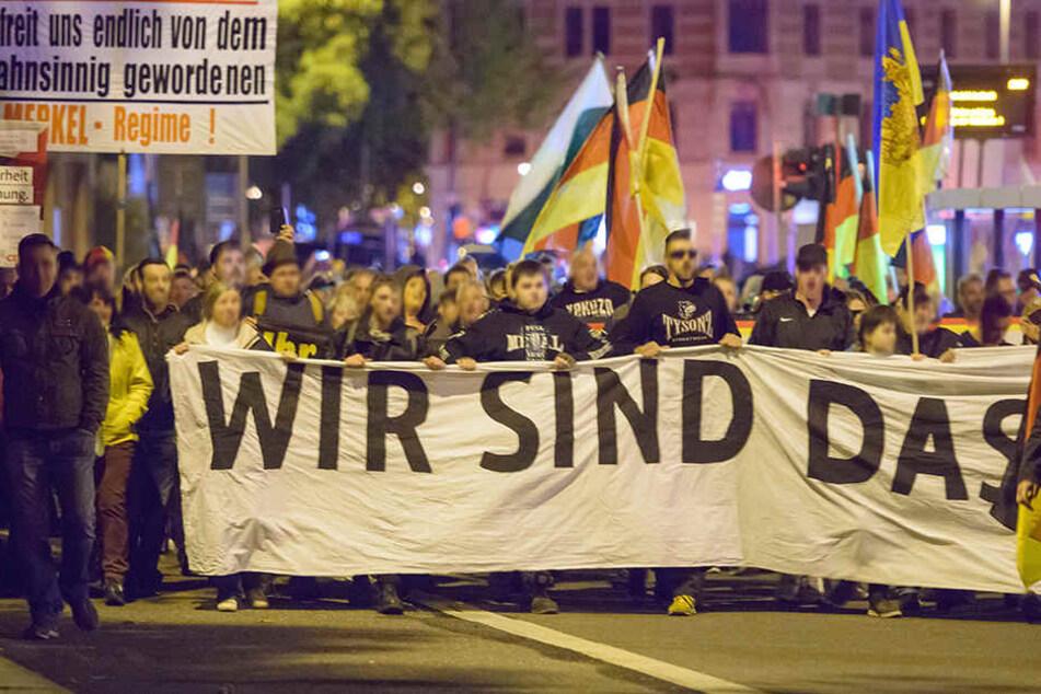 Chemnitz: 800 Einsatzkräfte! So lief der Demo-Freitag in Chemnitz