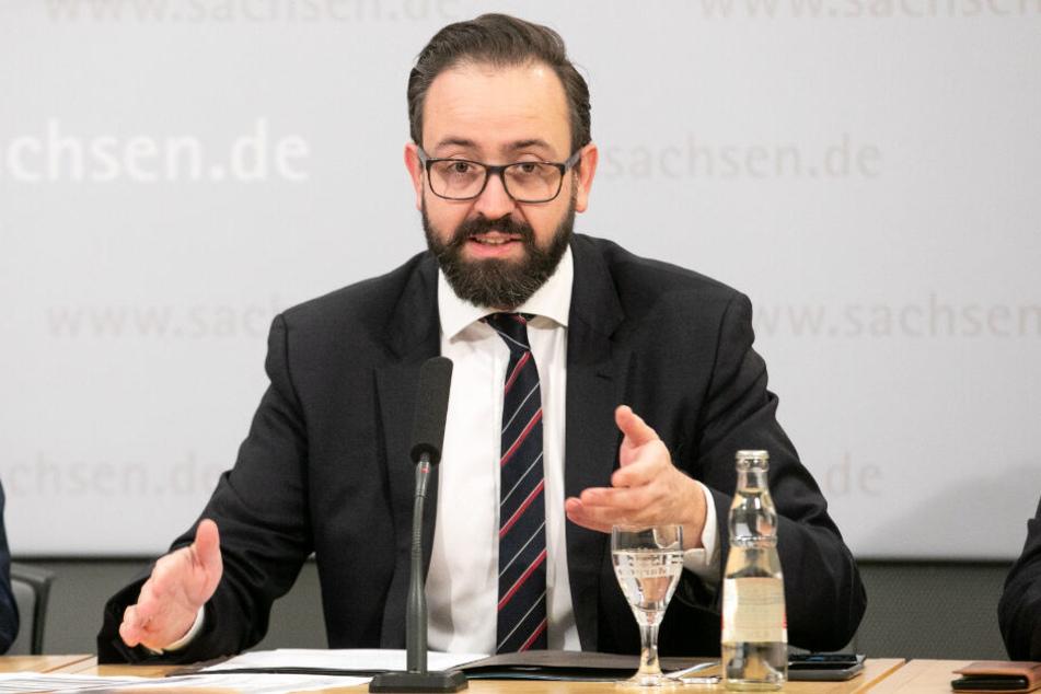 Justizminister Sebastian Gemkow (40).