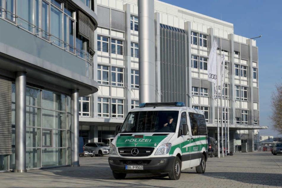 In Ingolstadt gab es bei Audi Durchsuchungen durch die Polizei.