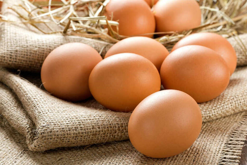 Die Eier sollen mit Biozid belastet sein. (Symbolbild)