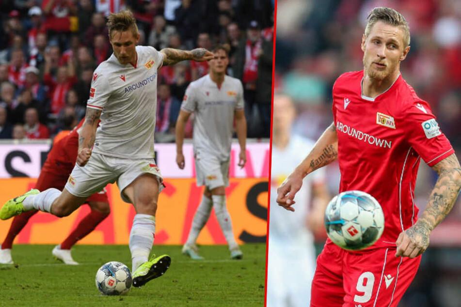 Sebastian Polter empfiehlt sich mit starken Leistungen für eine Vertragsverlängerung beim 1. FC Union Berlin. (Bildmontage)