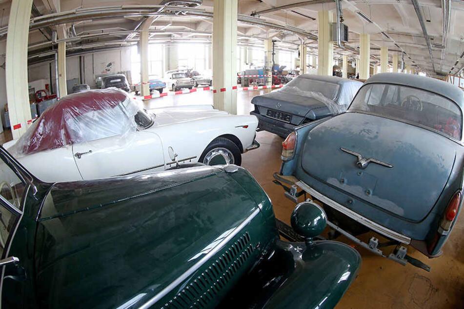 Der Zwickauer Audi-Bau wird nach der Landesausstellung 2020 für fünf  Millionen Euro saniert.