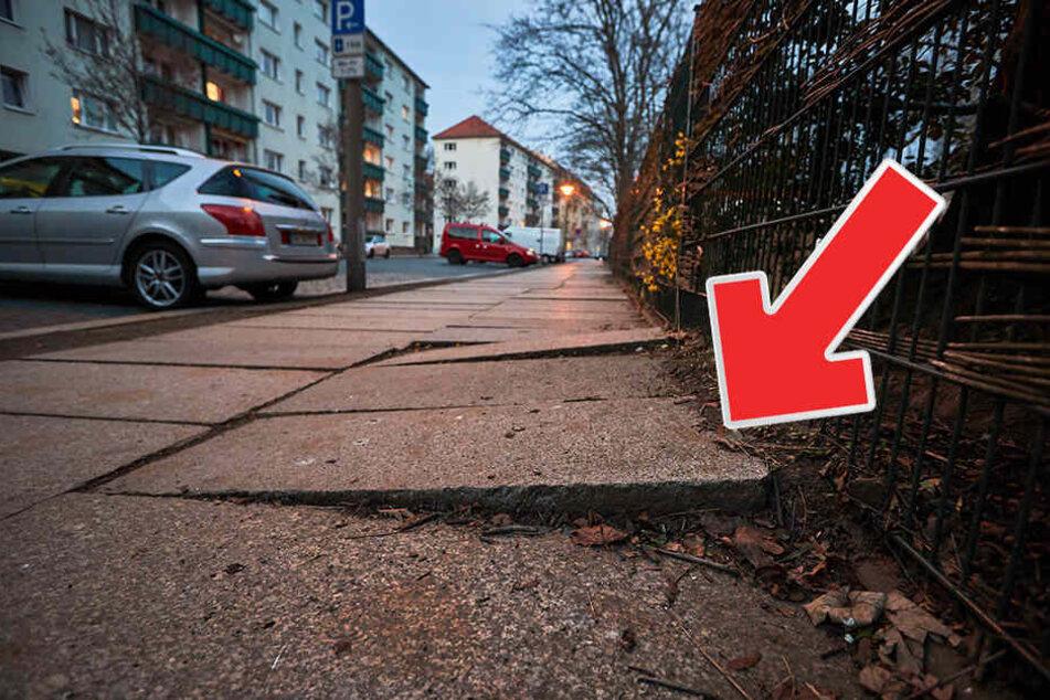 Bahn frei! Rathaus investiert 4,3 Millionen Euro in Dresdens Fußwege