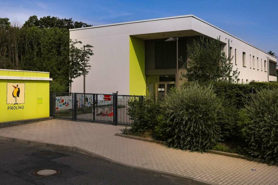 Betroffen ist die Kita Pirolino an der Gottfried-Keller-Straße in Cotta.