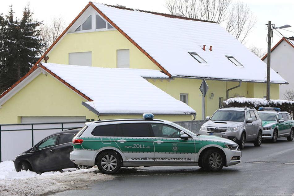 In Hermsdorf wurde ein Wohnhaus durchsucht.