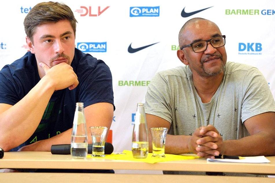 Chefcoach Idriss Gonschinska (rechts) spricht von einer Ausnahmesituation. (Foto Archiv).