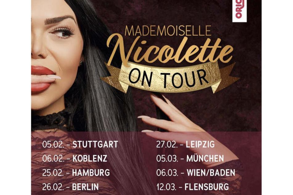 Der Sex-Comedian kommt nach Stuttgart, Koblenz, Hamburg, Berlin, Leipzig, München, Baden bei Wien und Flensburg.