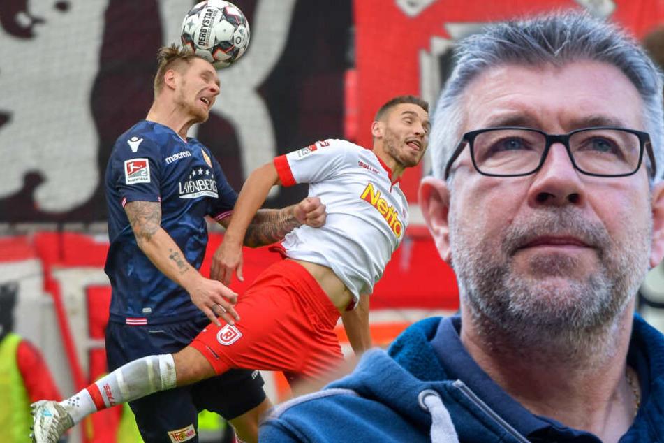 Urs Fischer peilt mit Union Berlin Platz zwei an. (Bildmontage)