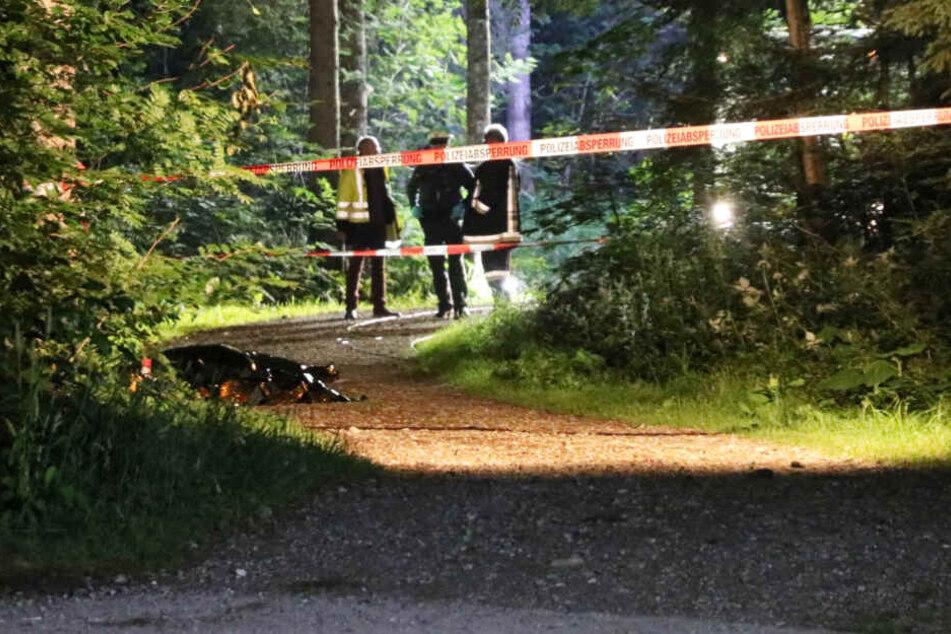 Zwei Kinder sind bei einem schrecklichen Unfall ums Leben gekommen.