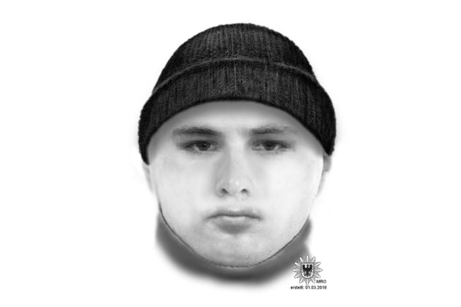 Mit diesem Phantombild sucht die Berliner Polizei den Verdächtigen.