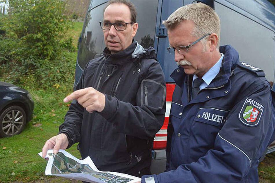 Lange suchte die Polizei nach dem Vermissten.