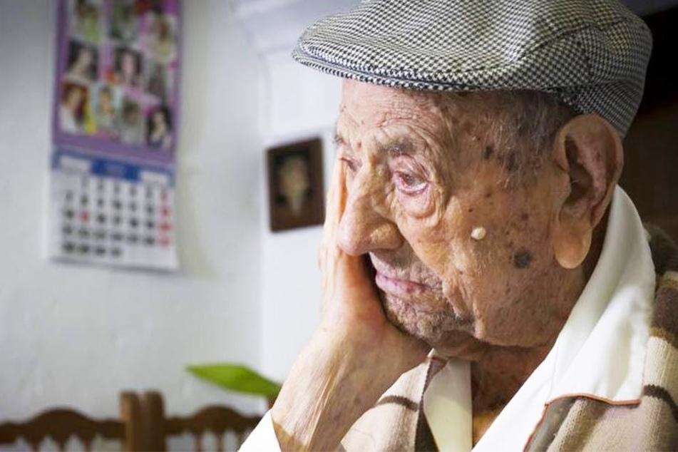 Der wohl älteste Mann der Welt, Francisco Núñez Olivera, ist gestorben.