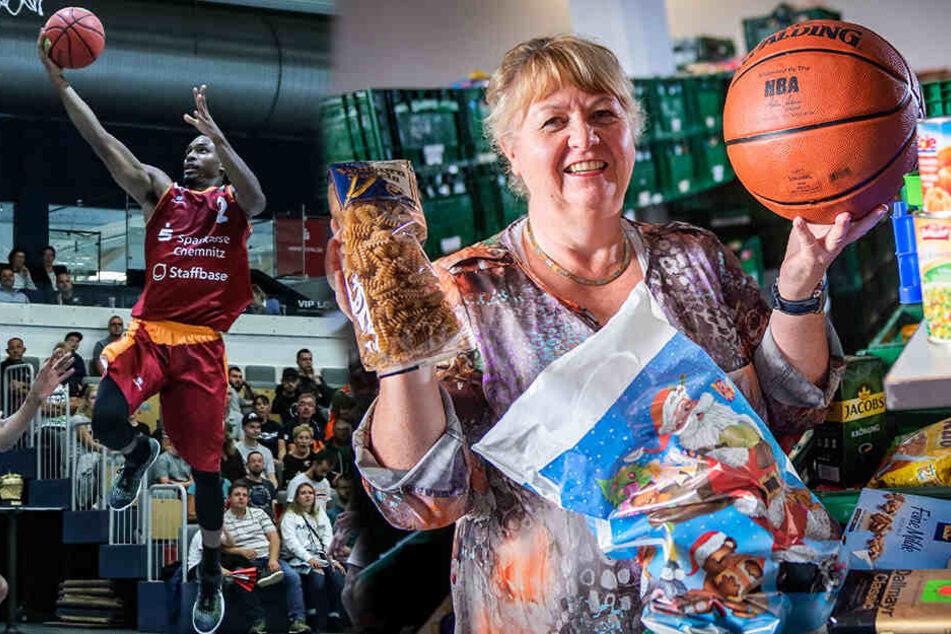 Fans bringt was zu essen mit: Niners sammeln Lebensmittel für Bedürftige