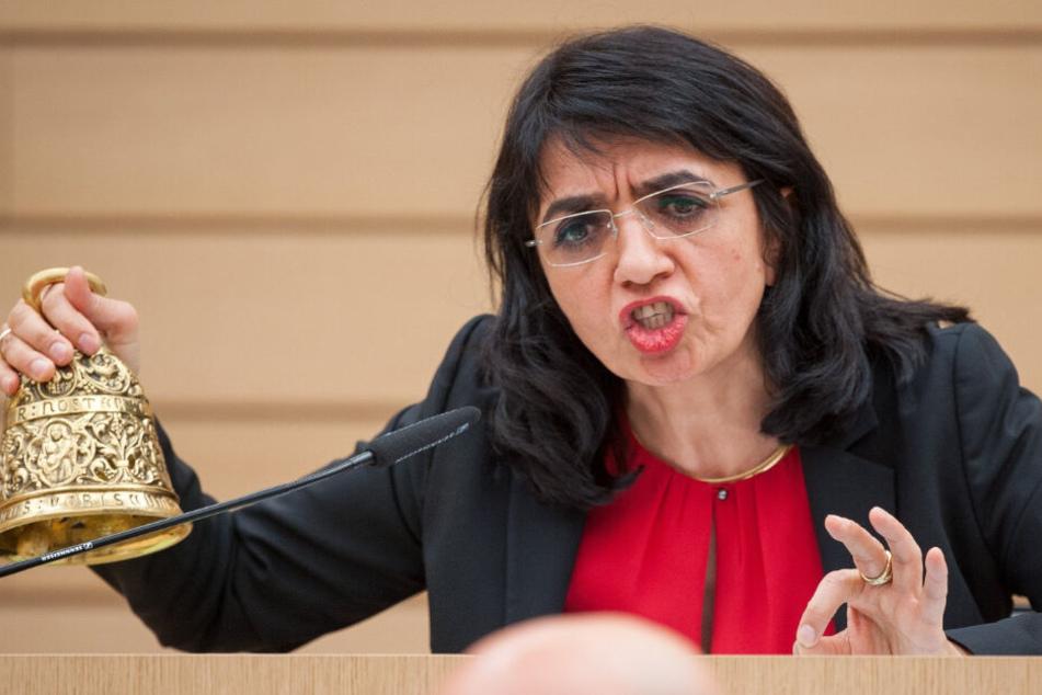 Landtagspräsidentin Muhterem Aras (Bündnis 90/Die Grünen) hatte die beiden AfD-Politiker Stefan Räpple und Wolfgang Gedeon von der Landtagssitzung am 12. Dezember und drei Folgesitzungen ausgeschlossen.