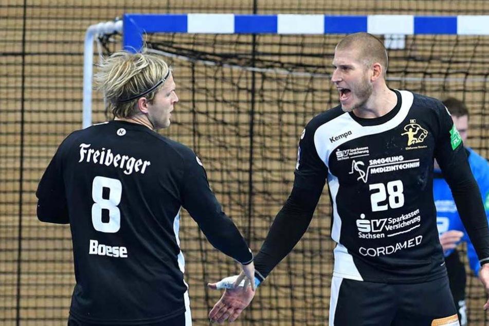 René Böse und Daniel Zele fallen derzeit verletzt aus.