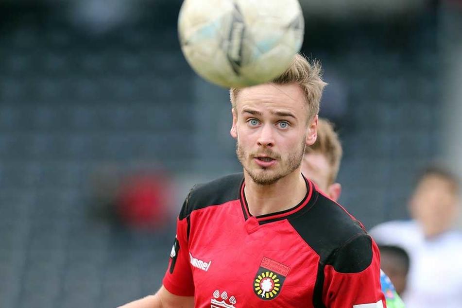 Kam im Juli 2017 aus Großaspach zu Dynamo: Lucas Röser.