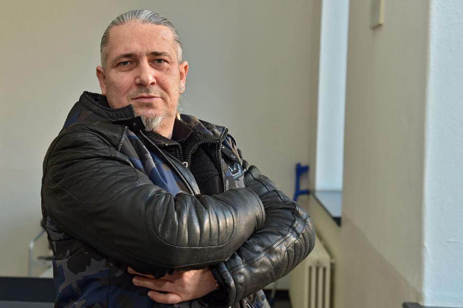 Rotlicht-Pate Wolfgang S. (47) zahlte Freitag 1000 Euro Schmerzensgeld.