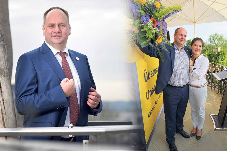 Die Bilanz: Halbzeit für Dresdens Rathaus-Chef Dirk Hilbert