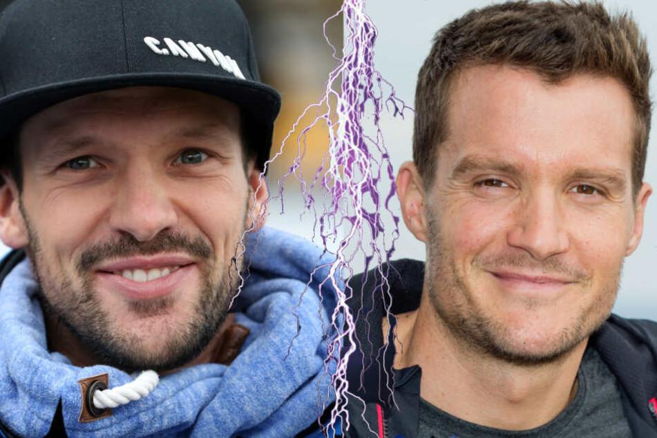 Giganten-Duell zwischen Patrick Lange (l.) und Jan Froderno (r.) wird 2018 zu erwarten sein.