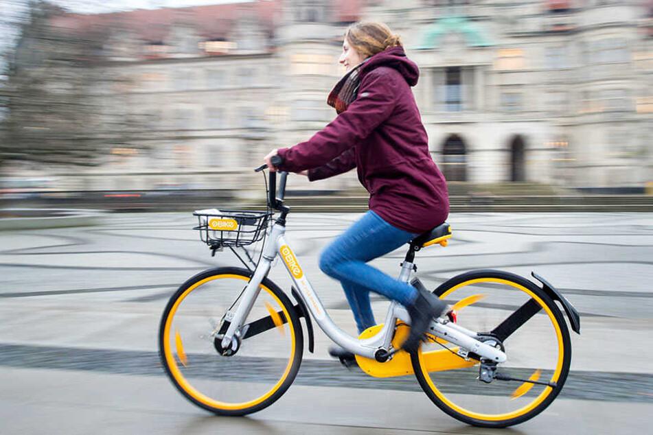 Wie hier in Hannover sollen Leihfahrräder in Bielefeld eingeführt werden. (Symbolbild)