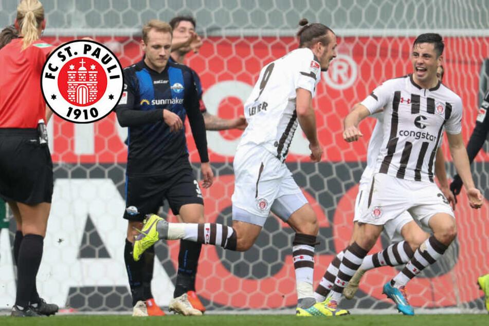 Meier, wer sonst?! St. Pauli gewinnt Spitzenspiel in Paderborn