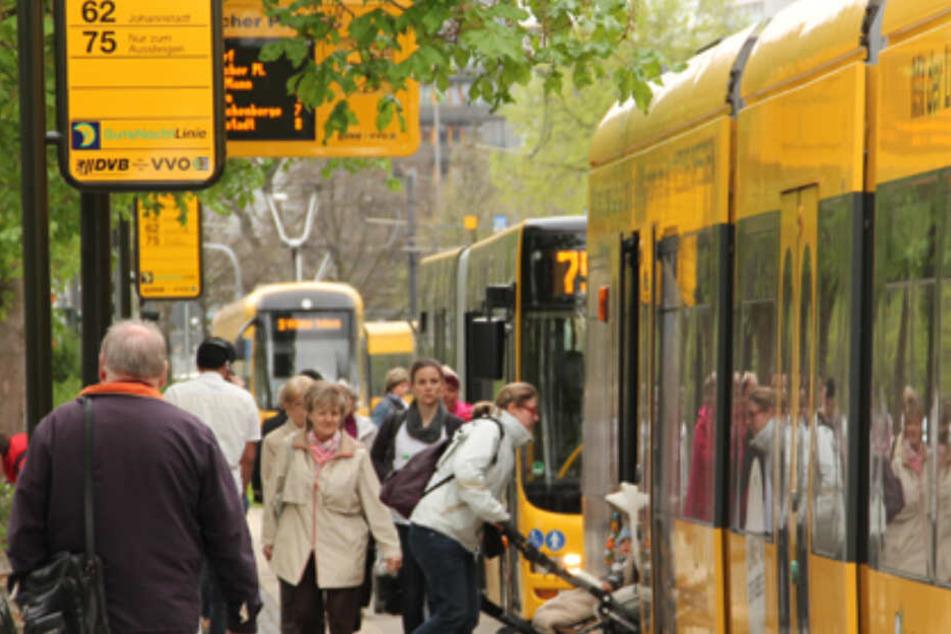 Dresdner Verkehrsbetriebe suchen Unterstützung in allen Bereichen