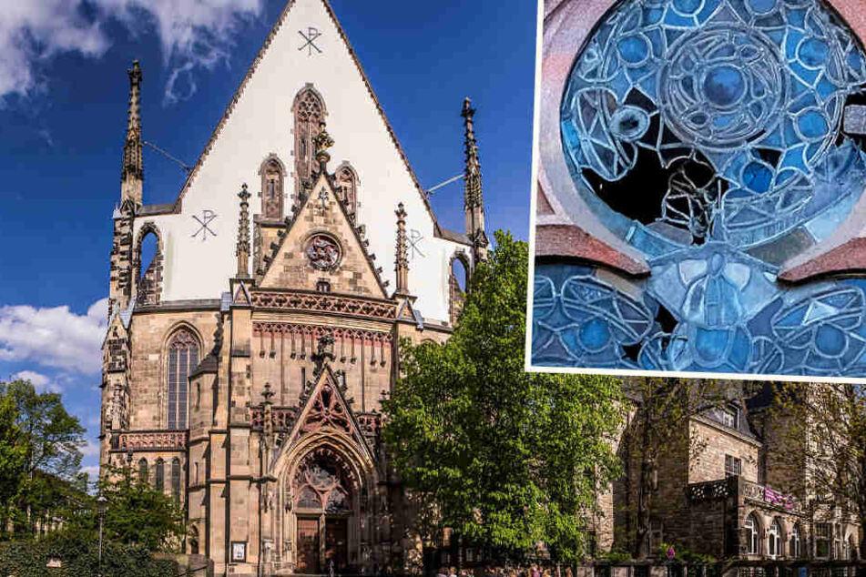 """Leipzig: """"Sohn Gottes"""": Verdächtiger geschnappt, der historische Scheiben der Thomaskirche zerstörte"""