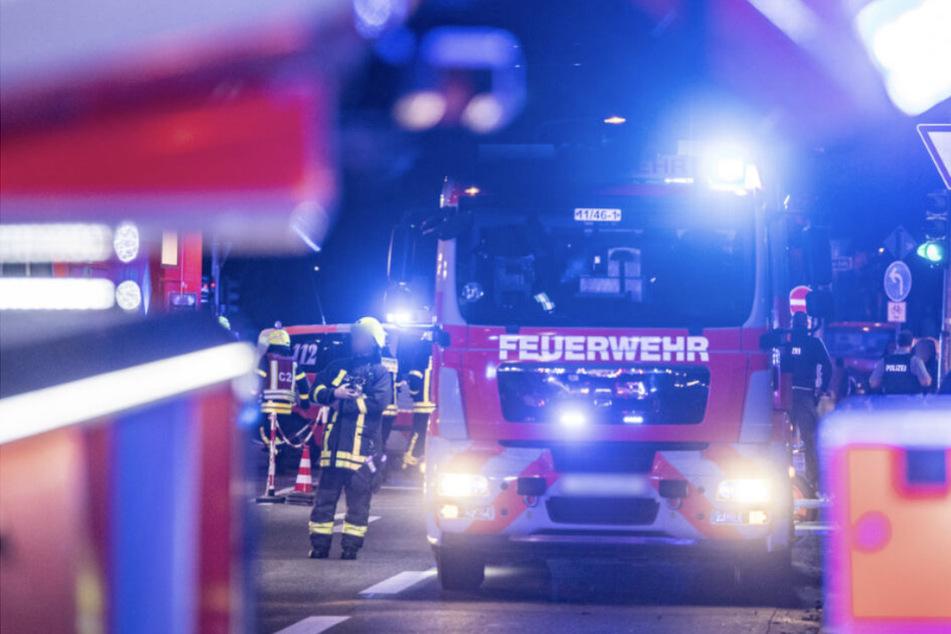 Die Feuerwehr brachte den Brand unter Kontrolle. (Symbolbild)